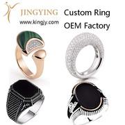 custom bracelet bangles gold plated silver jewelry