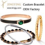Custom ring gold plated silver jewelry supplier
