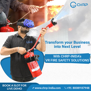 Virtual Reality Companies India   Virtual Reality for Fire Safety