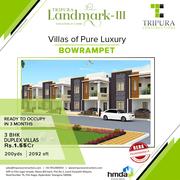3BHK Villas for Sale in Bowrampet   Tripura Landmark-3